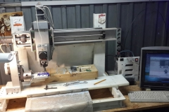 Milling parts for Pyroprinter