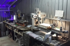Work place for manufacturing