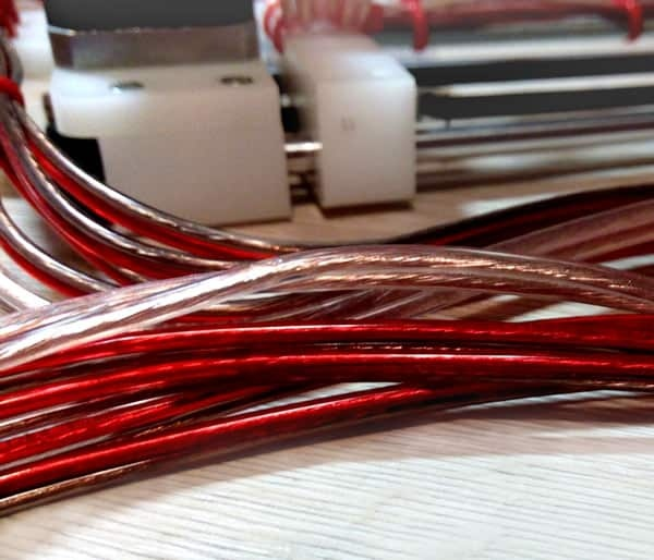 wire for wood burning machine
